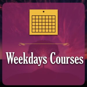 Weekdays Courses